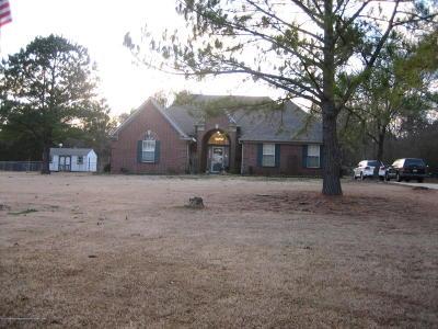 Byhalia Single Family Home For Sale: 3547 Cayce