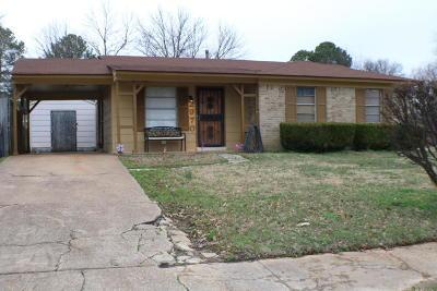 Horn Lake Single Family Home For Sale: 2970 Mayfair Drive