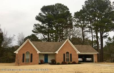 Tate County Single Family Home For Sale: 107 Brewer Drive