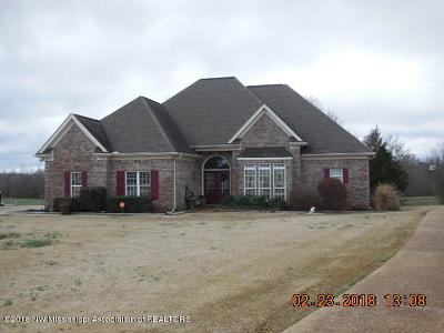 Tate County Single Family Home For Sale: 147 Lori Lane