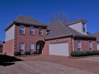 Olive Branch Single Family Home For Sale: 7396 Lauren