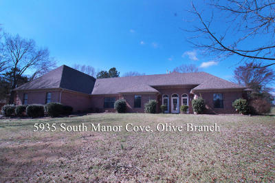 Olive Branch MS Single Family Home For Sale: $339,900