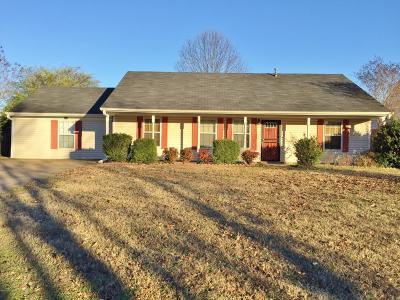 Tate County Single Family Home For Sale: 103 Evergreen
