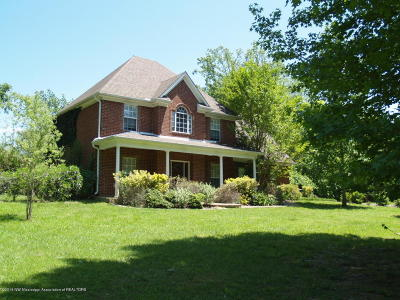 Tate County Single Family Home For Sale: 1321 Gravel Springs Road