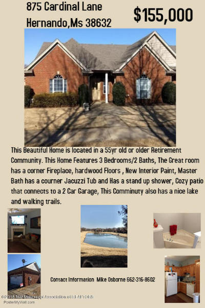 Hernando Single Family Home For Sale: 875 Cardinal Lane