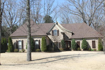 Olive Branch Single Family Home For Sale: 8465 Lakeview