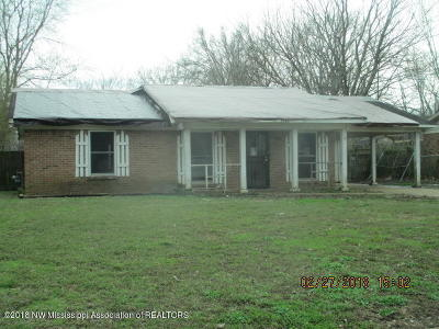 Horn Lake Single Family Home For Sale: 5119 Crestwood Cove