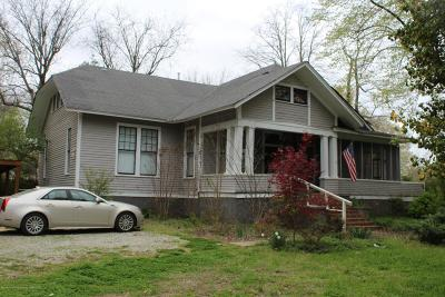 Holly Springs Single Family Home Active/Contingent: 160 N Walthall St