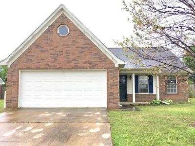 Horn Lake Single Family Home For Sale: 3353 Court Drive