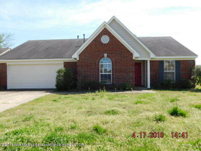 Horn Lake Single Family Home For Sale: 2355 Pappy Lane