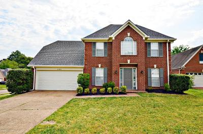 Olive Branch Single Family Home For Sale: 6146 Rolling Oaks Cove