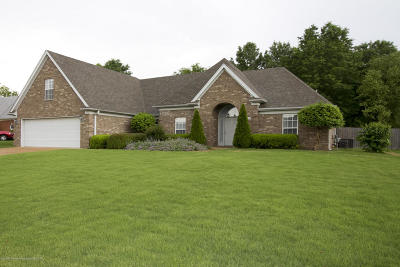 Horn Lake Single Family Home For Sale: 1520 Crossing Drive