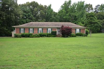 Benton County Single Family Home For Sale: 120 Carter Flats Road