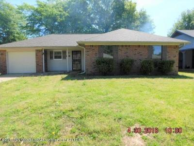 Olive Branch Single Family Home For Sale: 6658 Valerie Drive