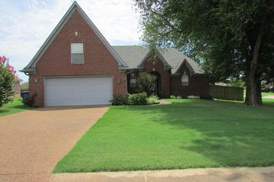 Olive Branch Single Family Home Active/Contingent: 4072 Destin Drive