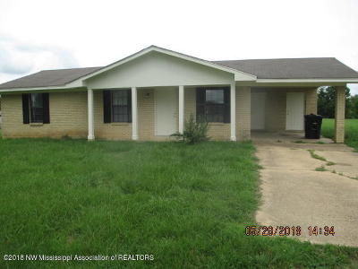 Tate County Single Family Home For Sale: 2945 Hammond Hill Road
