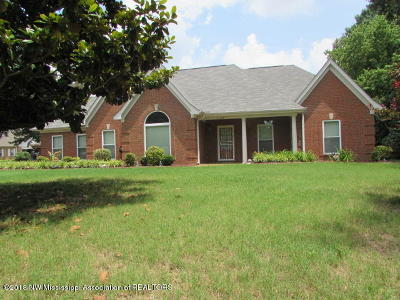 Horn Lake Single Family Home For Sale: 5160 Park Pl Drive