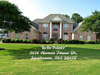 Southaven Single Family Home For Sale: 3616 Roman Forest Drive