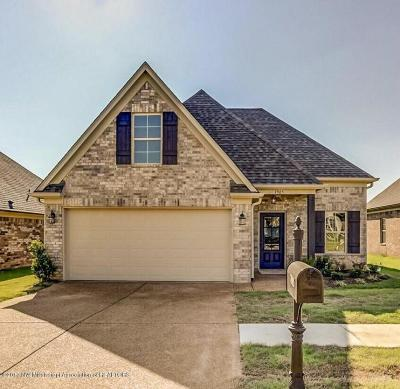 Southaven MS Single Family Home For Sale: $173,900