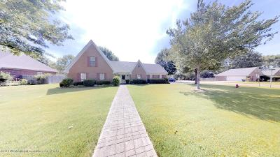 Olive Branch Single Family Home For Sale: 6844 Oak Forest Drive