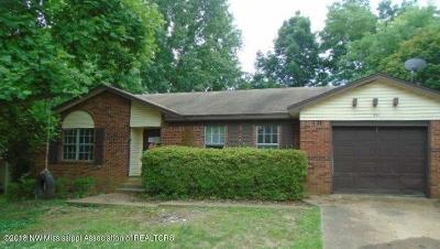 Southaven Single Family Home For Sale: 811 Pinestone Street
