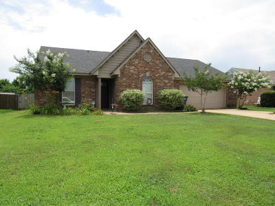 Tate County Single Family Home For Sale: 117 Muscadine Dr