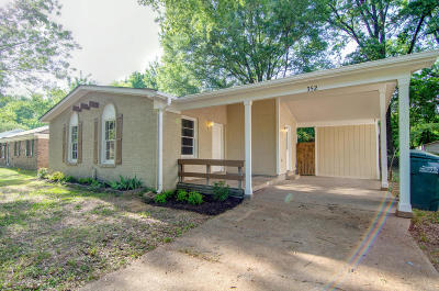 Southaven Single Family Home For Sale: 352 Hillbrook Drive