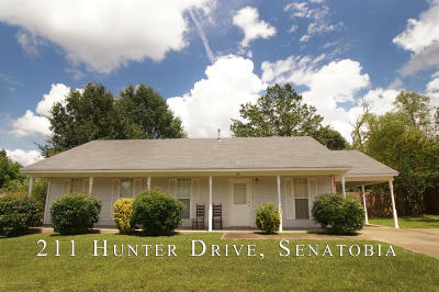 Tate County Single Family Home For Sale: 211 Hunter Drive
