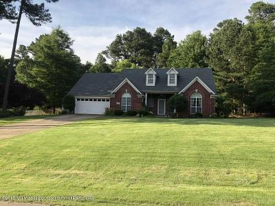 Olive Branch Single Family Home For Sale: 10172 Lacey Drive