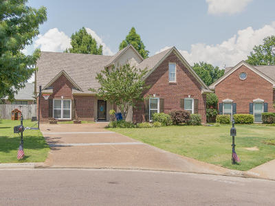 Olive Branch Single Family Home For Sale: 8226 Waverly Cove