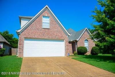 Olive Branch Single Family Home For Sale: 9049 Billy Pat Drive