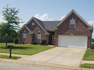 Horn Lake Single Family Home For Sale: 4276 Louden Drive
