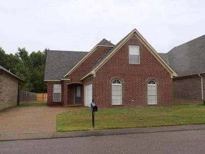 Horn Lake Single Family Home For Sale: 6406 E Arbor Lake Drive