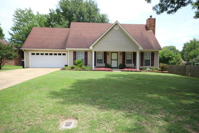 Olive Branch Single Family Home For Sale: 7572 Brooksberry Road