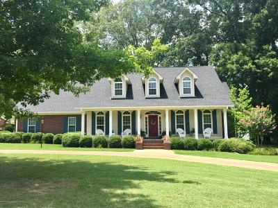 Tate County Single Family Home For Sale: 100 Oakwood Drive