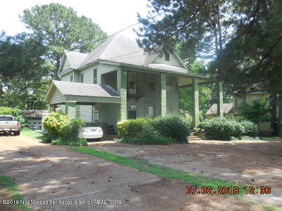Tate County Single Family Home For Sale: 115 Park Street
