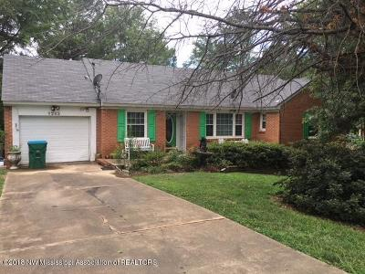Hernando MS Single Family Home For Sale: $139,000