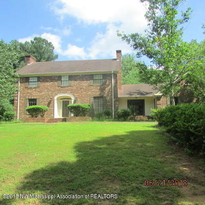 Holly Springs Single Family Home For Sale: 485 Woodland Heights