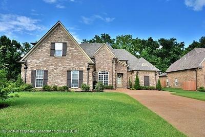 Desoto County Single Family Home For Sale: 5180 Garner Lane