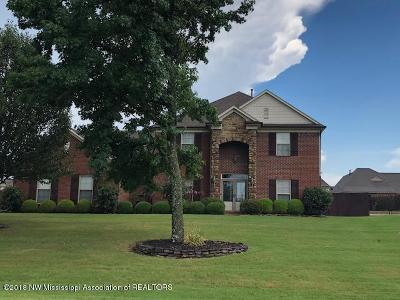 Desoto County Single Family Home For Sale: 3560 Marcia Louise Drive