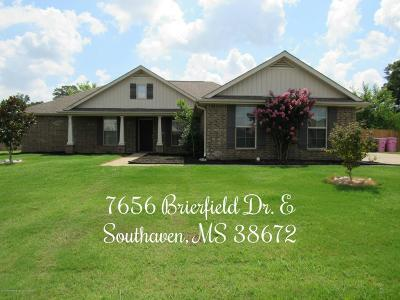 Southaven Single Family Home For Sale: 7656 Brierfield Dr E