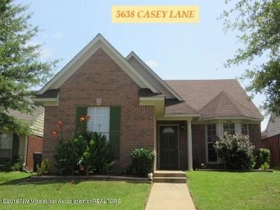 Southaven Single Family Home For Sale: 5638 Casey Lane