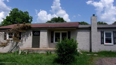 Holly Springs Single Family Home For Sale: 1075 Hwy 7 North