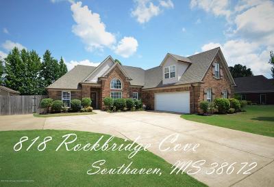 Southaven Single Family Home For Sale: 818 Rockbridge Cove