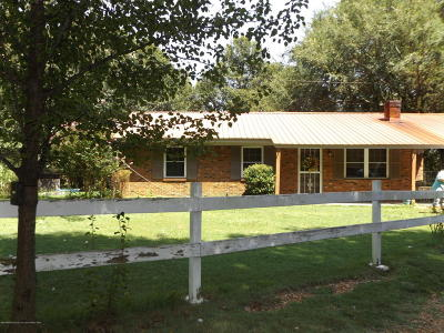 Tate County Single Family Home For Sale: 136 Compton Road