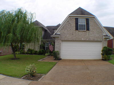 Olive Branch Single Family Home For Sale: 10889 Paul Coleman Drive