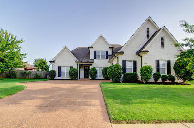 Southaven Single Family Home Active/Contingent: 2911 Ainsworth Lane
