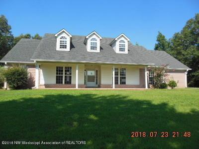 Potts Camp Single Family Home For Sale: 3772 Bethlehem Road