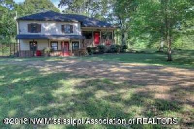 Tate County Single Family Home For Sale: 112 Looxahoma