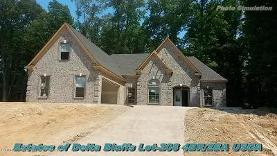 Walls Single Family Home For Sale: 7160 Soaring Oaks Cove
